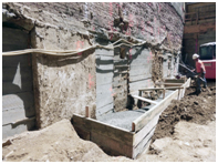 Underpinning of 12-story Building