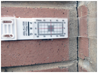 Crack Gauge Monitoring of Damaged Buildings