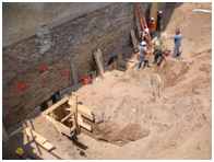 Underpinning of 6-Story Building in Sandy Soil